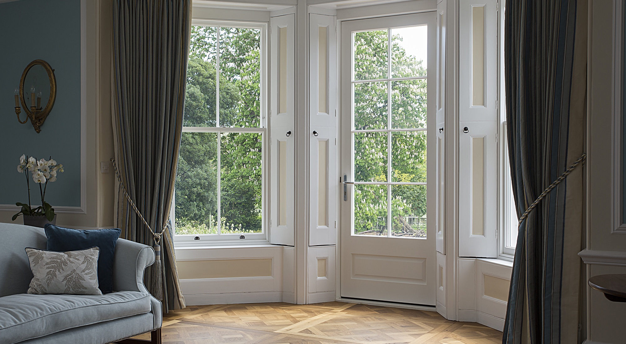 Living Room Box Sash Windows
